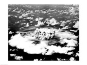 PVT/Superstock SAL25528448 Aerial view of an atomic bomb explosion Bikini Atoll Marshall Islands -24 x 18- Poster Print