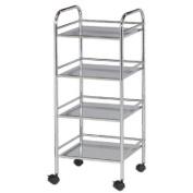 Alvin and Co. Storage Cart 80cm H 4 Shelf Shelving Unit