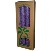 Aloha Bay 0249136 Palm Tapers Violet - 4 Candles
