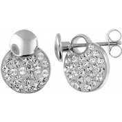 Doma Jewellery DJS01753 Sterling Silver Earring with Crystal