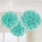 Amscan 201877 16 W Fluffy Decorations Paper