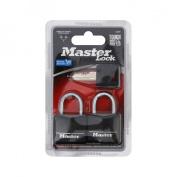 Master Lock Covered Brass Steel Shackle Padlock 131T