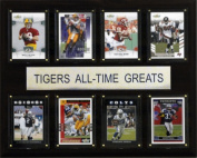 C and I Collectables 1215ATGLSU NCAA Football LSU Tigers All-Time Greats Plaque