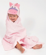 AM PM Kids 46007 Pink Pony Tubby Hooded Towel - 68.6cm . x 127cm .