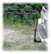 Kage Racing BK4 Kage Racing Four Bike Rack Carrier for 3.2cm . and 5.1cm . Hitch