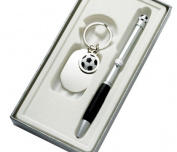 Aeropen International KS-5231 Soccer Ball - Sport Gift Set with Pen and Key Ring