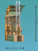Weems& Plath 8807/O Den Hann Boat Wall Oil Lamp