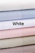 Daniadown 5106107 Queen Duvet Cover Luxe White 600