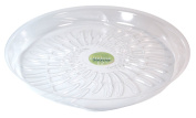 Plastec Products 12in. LiteLine Saucer LL12 - Pack of 25