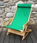 Blue Ridge Chair Works SRCH03WF Sling Recliner - Forest Green