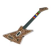 DecalGirl GHX-LEOPARD Guitar Hero X-plorer Skin - Leopard Spots