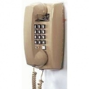 ITT 2554-27F 255444-VBA27F Wall phone Ash