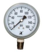 Zenport Industries APG160 0 . 160 PSI Ammonia Pressure Gauge