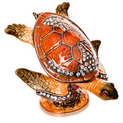 Alexander Kalifano SVA-025 Vanity Sea Turtle Made with. Crystals