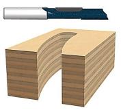Bosch Power Tools 114-85278M .12.7cm . C.T. Straight Toothrouter Bit .12.7cm . Shank