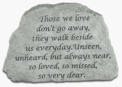 Kay Berry- Inc. 46720 Those We Love Don-t Go Away - Memorial - 6.5 Inches x 4.5 Inches x 1.5 Inches