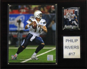 C & I Collectables 1215PRIVERS NFL Philip Rivers San Diego Chargers Player Plaque