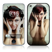 DecalGirl AIP3-HPHONES iPhone 3G Skin - Headphones