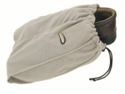 Travelon 22235 Set Of 2 Shoe Bags - Grey Polyester Fleece