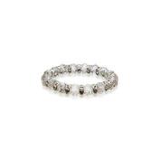 Alexander Kalifano BLUE-BGG-14 Gorgeous Glass Bracelet - Diamond