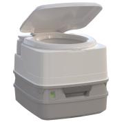 Thetford Porta Potti 260P Marine Toilet with Piston Pump, Level Indicator, and Hold-Down Kit