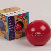 FitBALL FBSM3 FitBALL SoftMeds Red 1.5kg