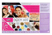 Tulip Body Art Kit, Sport Fanatic