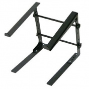 SOUND AROUND-PYLE INDUSTRIES PLPTS30 Laptop Computer Stand for DJ with Flat Bottom Legs
