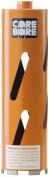 Diamond Products 00012 Core Bore 2-. 5 - Heavy Duty Orange Dry Hole Saw Bit for block and soft brick