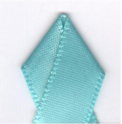 Papilion R074300090315100Y .38 in. Single-Face Satin Ribbon 100 Yards - Navajo Turquoise