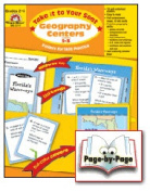 Geography Centres Grades 2-3