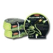 Legacy Manufacturing LEGHFZ3850YW2 Flexzilla 1cm x 50yd Yellow Air Hose with 0.6cm MNPT Ends