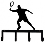 Village Wrought Iron KH-191 Tennis Key Holder