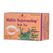 Health King Medicinal Teas 0417410 Midlife Rejuvenating Herb Tea - 20 Tea Bags