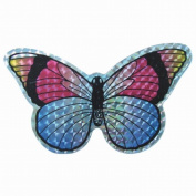 Clark Collection CC52069 Small Multi-Colored Butterfly Door Screen Saver