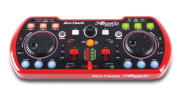 Poket DJ Duo USB Powered Portable DJ Controller with Integrated Sound Card and Deckadance LE DJ Software