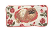 123 Creations C277EG Pekingese petit-point eyeglass case