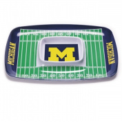 BSI PRODUCTS 32003 Chip and Dip Tray - Michigan Wolverines