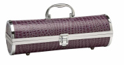 Picnic Gift 3062-PP Gala Croc Wine Purse - Purple
