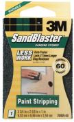 3m 60 Grit SandBlaster Paint Stripping Sanding Sponge Block 20909-60