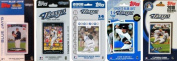 C & I Collectables JAYS5TS MLB Toronto Blue Jays 5 Different Licenced Trading Card Team Sets