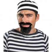 Costumes For All Occasions DG15026 Moustache and Beard Prisoner