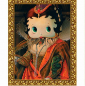 Precious Kids 37003 Betty Boop Canvas Painting-Queen Betty