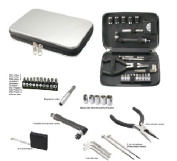 Natico Originals 60-ET-24 24 Pc Tool Kit In Tin Case
