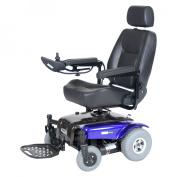 "Medalist Rear Wheel Drive Power Wheelchair - 20"", Midnight Blue"