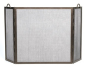 Achla SS-31Z Twisted Rope Folding Screen - Bronze
