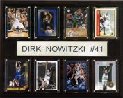 C & I Collectables 1215NOWITZKI8C NBA Dirk Nowitzki Dallas Mavericks 8 Card Plaque