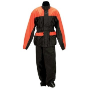 Diamond Plate Motorcycle Rain Suit Small/Med