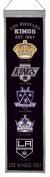 Winning Streaks Sports 47027 Los Angeles Kings Heritage Banner