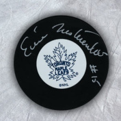 AJ Sports World NESE104050 ERIC NESTERENKO Toronto Maple Leafs Autographed Hockey PUCK